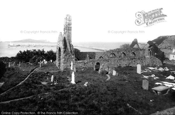 Photo of Howth, The Abbey 1897