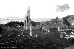 Howth, The Abbey 1897