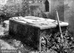 Howth, The Abbey, The Tomb Of The 13th Earl Of Howth 1897