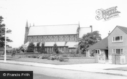 Hoylake, Parish Church c.1965