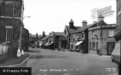 Hoyland, High Street c.1960