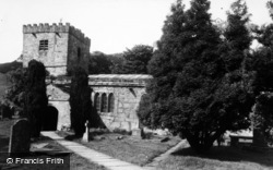 Church Of St Michael And All Angels c.1960, Hubberholme