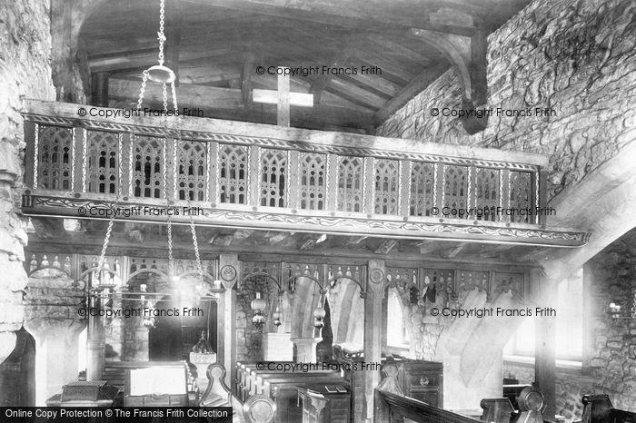 Photo of Hubberholme, Church, Rood Screen 1900