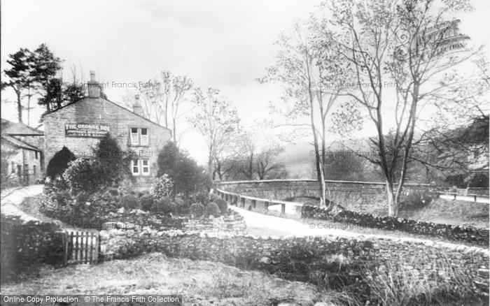 Photo of Hubberholme, The George Inn c.1930
