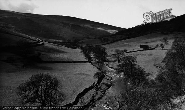 Photo of Hubberholme, The River Wharfe c.1960