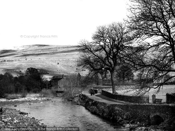 Photo of Hubberholme, View From The Bridge c.1950