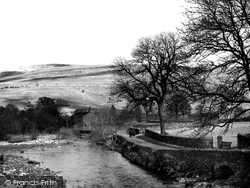 View From The Bridge c.1950, Hubberholme
