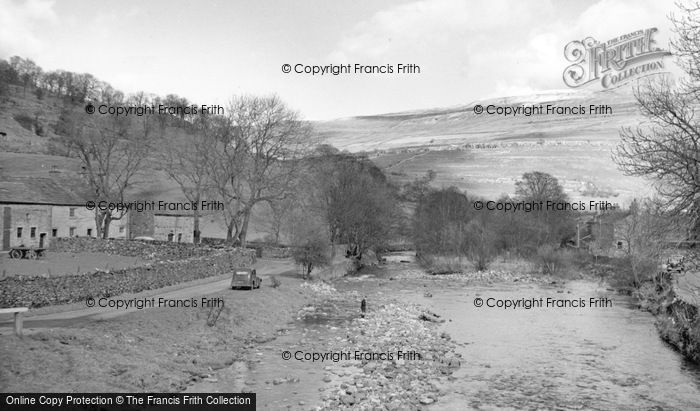 Photo of Hubberholme, View From The Bridge c.1960