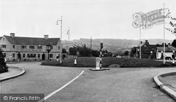 Hucclecote, Brockworth Roundabout c.1955