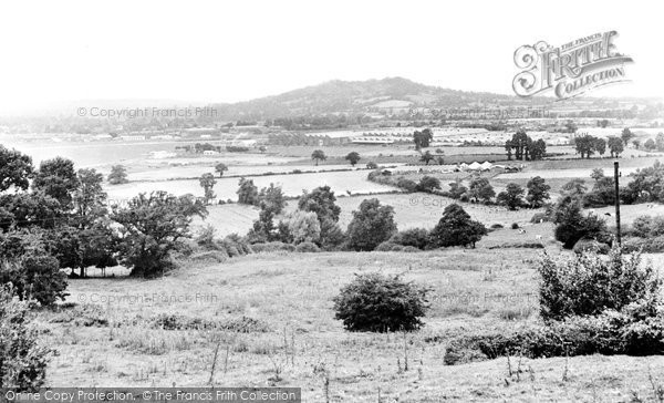 Hucclecote, Chosen Hill and General View c1965
