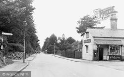 Hucclecote, The Main Road c.1955