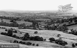 Hucclecote, View From Birdlip Hill c.1960