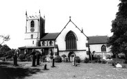 Hucknall, Church Of St Mary Magdalene c.1965