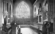 Hucknall, Hucknall Torkard Church, Choir East 1890