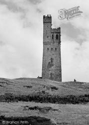 Huddersfield, Castle Hill 1957