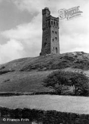 Huddersfield, Castle Hill c.1960