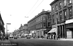Huddersfield, John William Street 1957