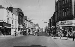 Huddersfield, New Street 1957