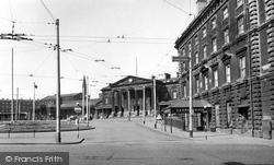 Huddersfield, St George's Square c.1955