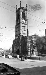 Huddersfield, St Peter's Parish Church c.1955