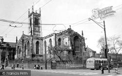 Huddersfield, St Peter's Parish Church c.1960