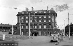 Huddersfield, The George Hotel c.1955