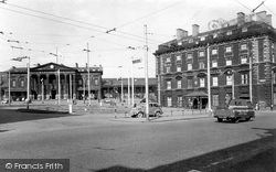 Huddersfield, The George Hotel, St George's Square 1957