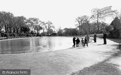 Huddersfield, The Lake, Greenhead Park c.1960