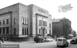 Huddersfield, The Library c.1960