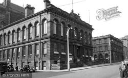Huddersfield, The Town Hall c.1955