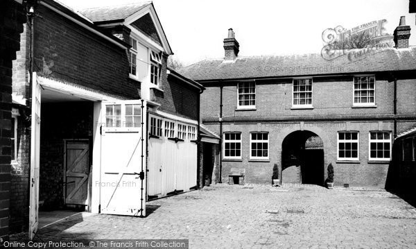 Hughenden Valley, Hughenden Manor Stables c1960