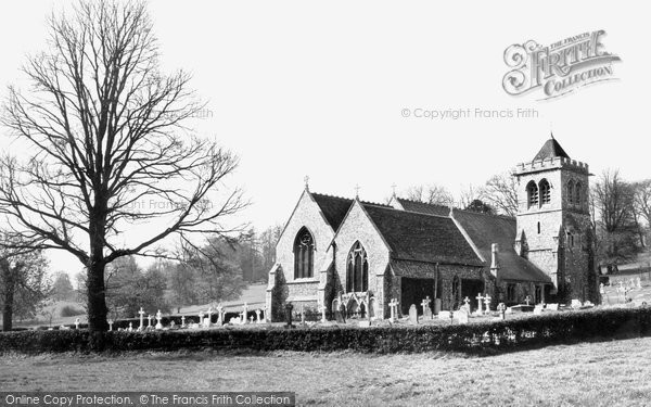 Hughenden Valley, the Church c1955