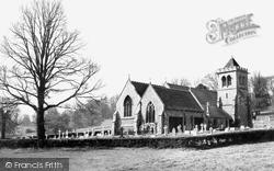 Hughenden Valley, Parish Church Of St Michael And All Angels c.1960