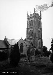 St Mary's Church c.1950, Huish Episcopi