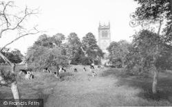 St Mary's Church c.1960, Huish Episcopi