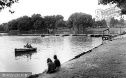 Hull, East Park Boating Lake c.1965, Kingston Upon Hull