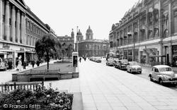 Hull, Paragon Street c.1960, Kingston Upon Hull