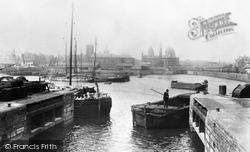 Hull, Prince's Dock 1903, Kingston Upon Hull