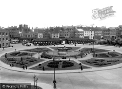 Hull, Queens Gardens c.1955, Kingston Upon Hull
