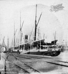Hull, Ships At Quayside c.1870