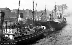 Hull, St Andrew's Dock c.1955, Kingston Upon Hull