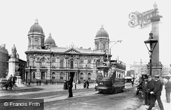 Hull, The Dock Offices 1903, Kingston Upon Hull