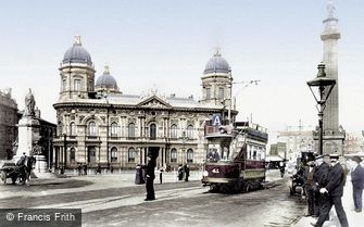 Hull, the Dock Offices 1903
