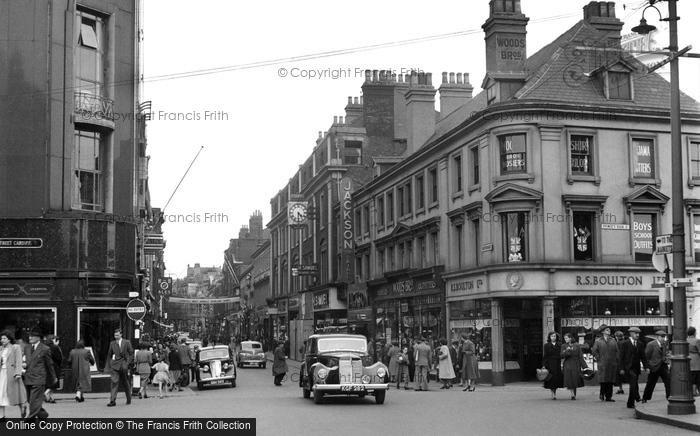 Hull, Whitefriargate 1953