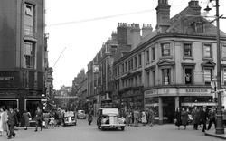 Hull, Whitefriargate 1953, Kingston Upon Hull