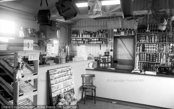 Humberston, Beacholme Holiday Camp Shop Interior c.1955