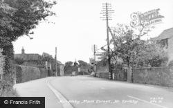 Hundleby, Main Street c.1955