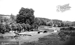 Canal And River Dunn c.1955, Hungerford