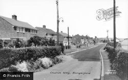 Hungerford, Church Way c.1960