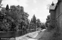 Kennet And Avon Canal c.1955, Hungerford